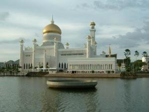 มัสยิดทองคำ+Jame+Ar'+Hassanil+Bolkiah+Mosque